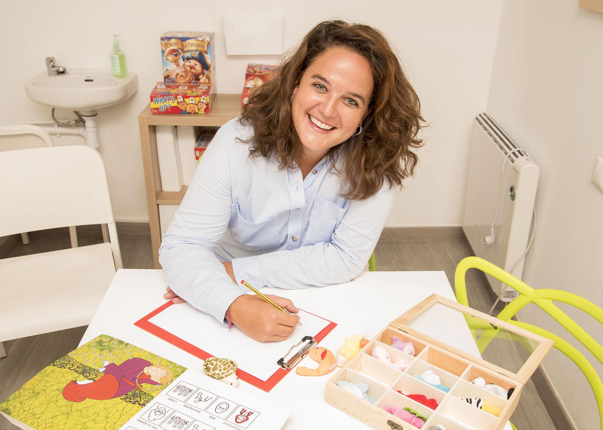 Sabela Blanco Psicóloga Espai Tau Kids